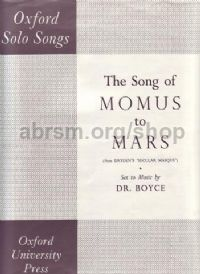 Song of Momus to Mars
