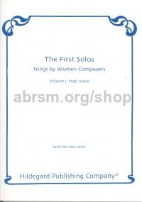 First Solos: Songs by Women Composers, Vol. 1