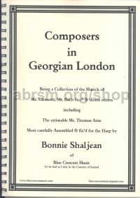 Composers in Georgian London for harp