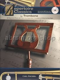 Repertoire Classics for Trombone (+ CD)