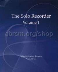The Solo Recorder, Vol. 1