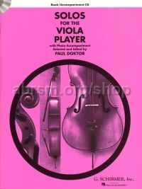 Solos for the Viola Player (+ CD)