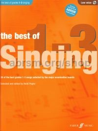 The Best of Singing Grades 1-3 (Low Voice)