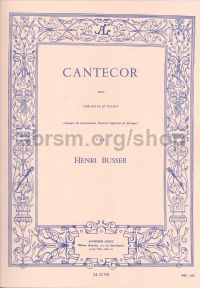 Cantecor Op 77 (horn & piano)