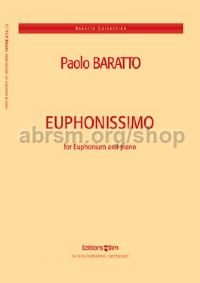 Euphonissimo for Euphonium & Piano (Treble Clef)