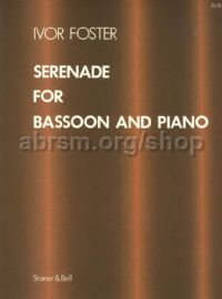 Serenade: Bassoon & piano