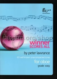 Winner Scores All for Oboe, arr. Lawrance