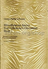 Miscellaneous Dances from Telemann's Overtures for treble recorder, Book 2, arr. Robinson