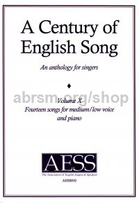 A Century of English Song Volume 10