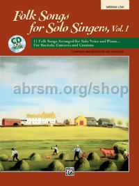 American Folk Songs For Solo Singers - medium/low voice