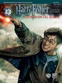 Harry Potter Instrumental Solos for Cello (+ CD)