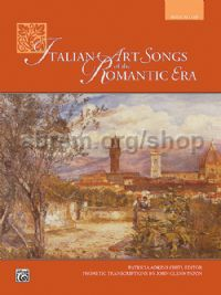 Italian Art Songs of the Romantic Era Med Low (Book & CD)