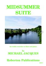 Midsummer Suite for treble recorder (or flute) & piano
