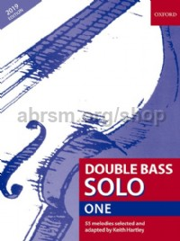Double Bass Solo Book 1 (2019 edition)