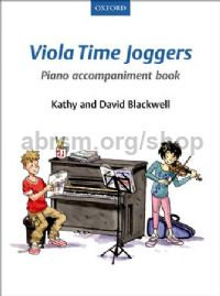 Viola Time Joggers - Piano accompaniment