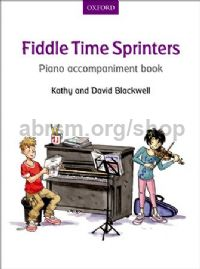 Fiddle Time Sprinters Piano Accompaniment Book REVISED EDITION