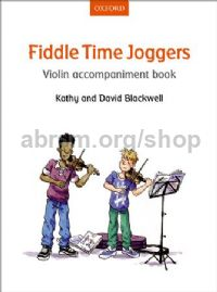 Fiddle Time Joggers Violin Accompaniment Book REVISED EDITION