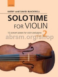 Solo Time for Violin, Book 2 (+ CD)