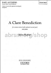 Clare Benediction (Unison)
