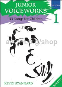 Junior Voiceworks 1 (Book & CD)