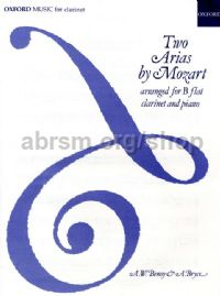Two Arias for clarinet & piano