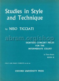 Ticciati: Studies in Style and Technique, Book 3