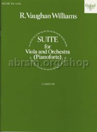 Suite for Viola and Orchestra - Reduction for viola and piano