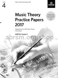 Music Theory Practice Papers 2017 - Grade 4