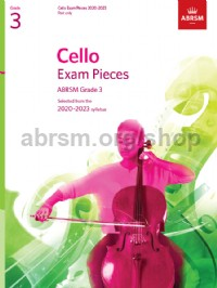 Cello Exam Pieces 2020-2023, ABRSM Grade 3, Part