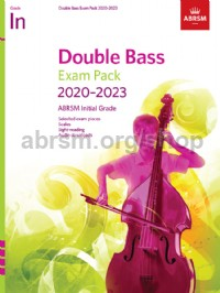 Double Bass Exam Pack 2020-2023, Initial Grade