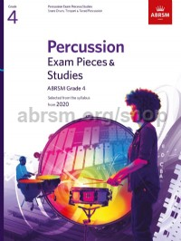 Percussion Exam Pieces & Studies, ABRSM Grade 4
