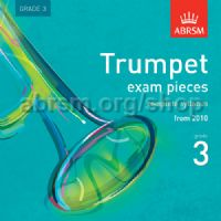 Trumpet Exam Pieces 2010 CD, ABRSM Grade 3