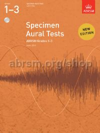 Specimen Aural Tests, Grades 1-3 with 2 CDs