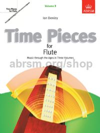 Time Pieces for Flute, Volume 3
