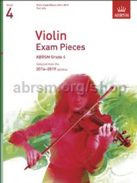 Violin Exam Pieces 2016–2019, ABRSM Grade 4, Part