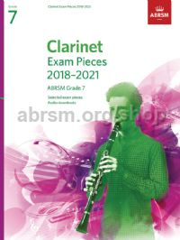 Clarinet Exam Pieces 2018–2021, ABRSM Grade 7