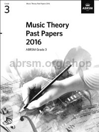 Music Theory Past Papers 2016, ABRSM Grade 3