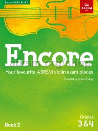 Encore Violin, Book 2, Grades 3 & 4