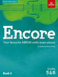 Encore Violin, Book 3, Grades 5 & 6