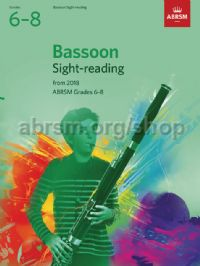 Bassoon Sight-Reading Tests, ABRSM Grades 6–8