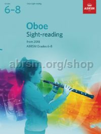 Oboe Sight-Reading Tests, ABRSM Grades 6–8
