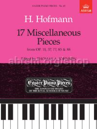 17 Miscellaneous Pieces from Op.11, 37, 77, 85 & 88