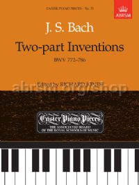 Two-part Inventions BWV 772-786