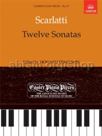 12 Sonatas for piano solo