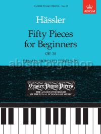 Fifty Pieces for Beginners, Op.38