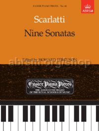 9 Sonatas for piano solo