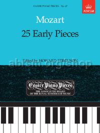 25 Early Pieces