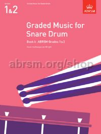 Graded Music for Snare Drum, Book I