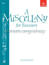 A Miscellany for Bassoon, Book II