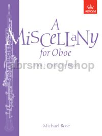 A Miscellany for Oboe, Book I
